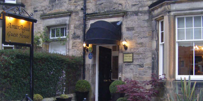 Welcome to AmarAgua. Bed and Breakfast and Guest House in Edinburgh
